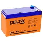 Фото 2/2 Аккумулятор 12В 9А.ч Delta DTM 1209