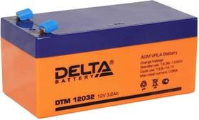 DTM12032, Аккумулятор свинцовый 12В-3.2Ач 134x67x67