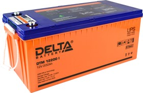 DTM 12200 I Delta Аккумуляторная батарея