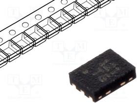 SC121ULTRT, Conv DC-DC 0.7V to 4.5V Synchronous Step Up Single-Out 1.8V to 5V/3.3V 0.19A 6-Pin MLPD-UT EP T/R