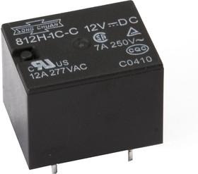 812H-1C-C (S) 12VDC, Реле 1пер. 12В / 7A, 250V