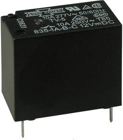 835-1A-B-C 18VDC, Реле 1зам. 18В / 10A, 277V (OBSOLETE)