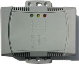 NetUSB-100iX4, Одно портовый коммуникационный сервер USB в Ethernet, управление до 4-х устройств