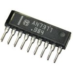 AN7311, Двухканальный предварительный усилитель для автомобильных аудиосистем, 4мА, 240мВт