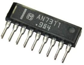 AN7310N, Двухканальный предварительный усилитель для автомобильных аудиосистем, 4мА, 240мВт