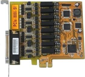 VScom 800i-Si PCIex, 8-портовая плата RS-422/485 на шину PCI Express с оптоизоляцией и защитой от импульсных помех