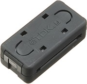 Фото 1/2 ZCAT3618-2630D-BK, Фильтр на плоский кабель (черный)