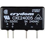 CXE240D5, Реле 15-32VDC, 5A/240 VAC