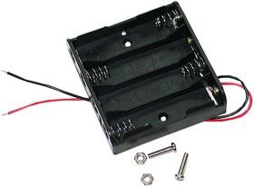 BAT-HOLDER-4XAA (б/крепежа), Батарейный отсек для робота