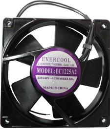 EC1225A2HBL, Вентилятор 220В, 120х120х25мм, подшипник качения, 2000 об/мин