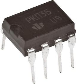 Фото 1/2 КР293КП3Б (5П14.3Б), Сдвоенное двунаправленное МОП-реле для телекоммуникаций 230В/25Ом, корпус DIP8