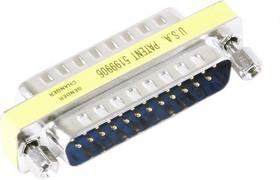 DB25M-DB25M, Переходник короткий