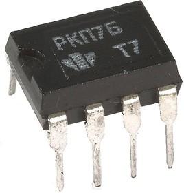 КР293КП7Б (5П14.7Б), Сдвоенное двунаправленное нормально-замкнутое МОП-реле 230В/25Ом, корпус DIP8 (OBSOLETE)