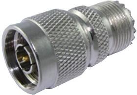 HYR-0329 (GN-329) (N-7330), Переходник, N штекер - UHF гнездо