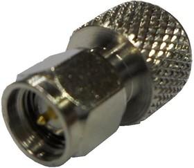 HYR-1508 (GMM-1508), Переходник, MMCX штекер - SMA штекер
