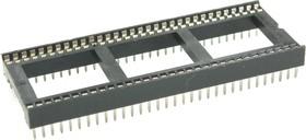 ICSS-64 (DS1010-64W), DIP панель 64-контактная шаг 1.778мм широкая
