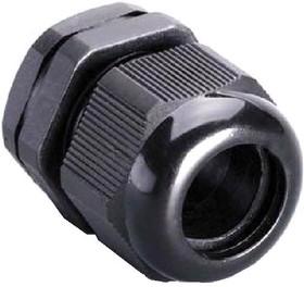 M-32 (MG-32), Ввод кабельный черный, нейлон 6.6, IP68