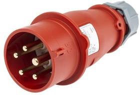 Вилка кабельная 16А 3Р+N+E IР44 переносная 400В AM-TOP