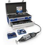 Фото 3/4 Dremel-4000 Platinum Edition (6/128), Инструмент многофункциональный с набором насадок в кейсе
