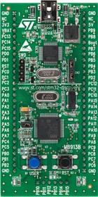 Фото 1/2 STM32VLDISCOVERY, Отладочная плата на базе MCU STM32F100RBT6B (ARM Cortex-M3), ST-LINK