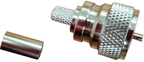 HYR-0604 (GU-604B) (UHF-7501B), Разъем UHF, штекер, RG-59, обжим (Crimp)