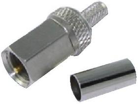HYR-1017D (GFM-1017D) (FME-8100D), Разъем FME, штекер, RG-174, обжим (Crimp)