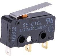 SS-01GL, Микропереключатель с лапкой 30VDC 0.1A