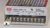 Смотреть видео: NES-200-12 Блок питания, 12В,17А,200Вт