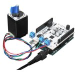 Фото 5/5 Motor Shield Plus, Плата управления двигателями для разработки ЧПУ станков или 3Д-принтеров