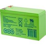 HRL 1234W F2 WBR, аккумулятор свинцовый