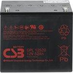 GPL 12520, аккумулятор свинцовый