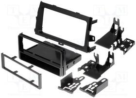 99-8223, Рамка для магнитолы; Toyota; 2 ISO; черный | купить в розницу и оптом