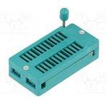 """DS1043-24, DIP панель 24-контактная с нулевым усилием 0.3""""-0.6"""""""