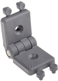 3842554458, GREY PLASTIC HINGE,30X30MM