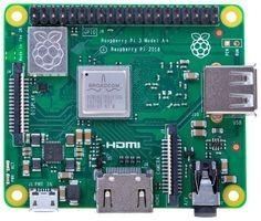 Фото 1/3 Raspberry Pi 3 Model A+, Одноплатный компьютер на базе процессора Broadcom BCM2837B0, Wi-Fi, Bluetooth