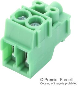 PT 1,5/2-PVH-3.5, Съемная клеммная колодка, 3.5 мм, 2 вывод(-ов), 26 AWG, 16 AWG, 1.5 мм², Винт