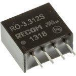 Фото 2/2 RO-3.312S, Module DC-DC 3.3VIN 1-OUT 12V 0.083A 1W 4-Pin SIP Tube