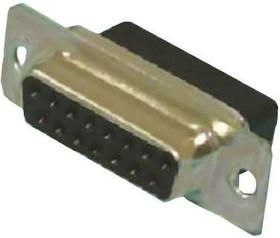 L177RRC37S, Conn D-Subminiature RCP 37 POS 2.77mm Crimp ST Panel Mount