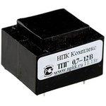 Фото 2/2 ТПК-0.7 (12В, 0.06А) (ТПГ-0.7), Трансформатор герметичный (залитый), 12В, 0.06А