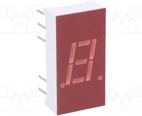 """Фото 1/2 LTS-312AHR, Дисплей LED, 7-сегментный, 7,62мм, красный, 0,87-2мкд, анод, 0,3"""""""