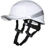 Защитная каска BASEBALL DIAMOND V UP из ABS белая DIAM5UPBCFLBS