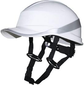 Фото 1/4 Защитная каска BASEBALL DIAMOND V UP из ABS белая DIAM5UPBCFLBS