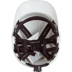 Фото 4/4 Защитная каска BASEBALL DIAMOND V UP из ABS белая DIAM5UPBCFLBS