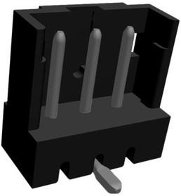 292172-3, Conn Shrouded Header HDR 3 POS 2mm Solder ST SMD Box/Tube