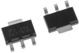 FQT7N10LTF, Trans MOSFET N-CH 100V 1.7A 4-Pin(3+Tab) SOT-223 T/R