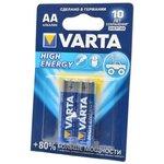 VARTA HIGH ENERGY/LONGLIFE POWER 4906 LR6 BL2, Элемент питания