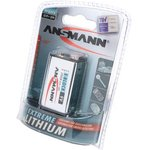 ANSMANN EXTREME LITHIUM 5021023 CR-V9 BL1, Батарея