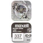 MAXELL SR416SW 337 (0%Hg), Элемент питания