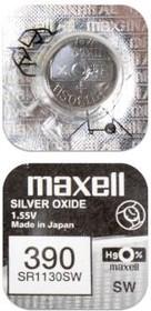 Фото 1/2 MAXELL SR1130SW 390 (0%Hg), Элемент питания