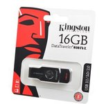 KINGSTON USB 3.1/3.0/2.0 16GB DataTraveler SWIVL металл с ...